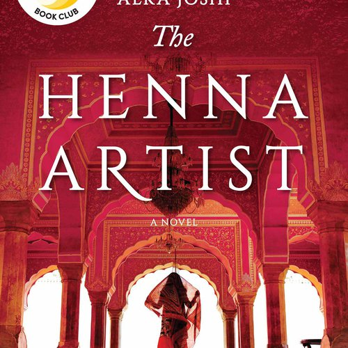Book cover of The Henna Artist