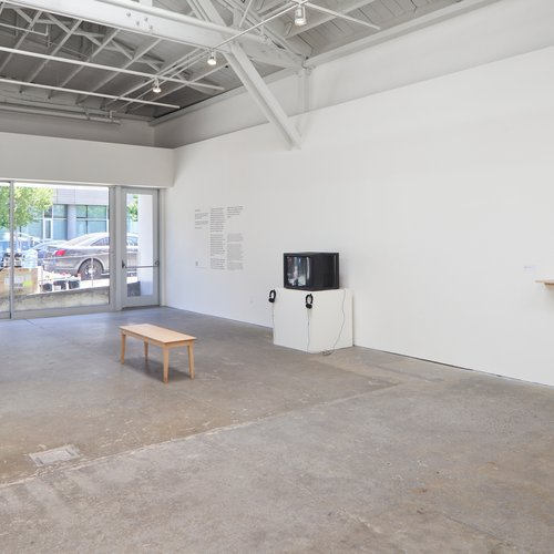 """Leandra Burnett, Katherine Jemima Hamilton, Shaelyn Hanes, Youyou Ma, and Emily Markert., Thesis exhibition: """"Contact Traces,"""" May 9 – June 6, 2021 at the CCA Wattis Institute for Contemporary Arts, Featuring works by Derya Akay, Lenka Clayton, LaToya Ruby Frazier, Ilana Harris-Babou, and Jenny Kendler."""