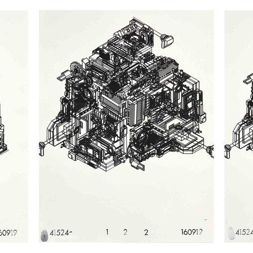 Geometric Cubes by Joel Lithgow