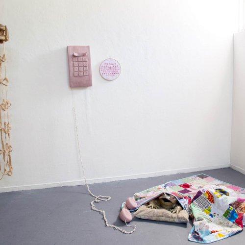 Ceramics installation work by Skye Demmon