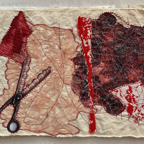 Wenyu Cheng, Fabric Board 3. n/a. Courtesy of the artist.